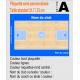 Plaquette basket personnalisée