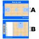 ardoise tactique basket personnalisée