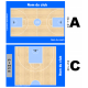 plaquette trainer basket personnalisée