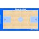 Plaquette basket semi-personnalisée grand format