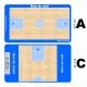 planche entraineur basket affaçable avec logo club