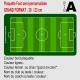 Plaque football personnalisée