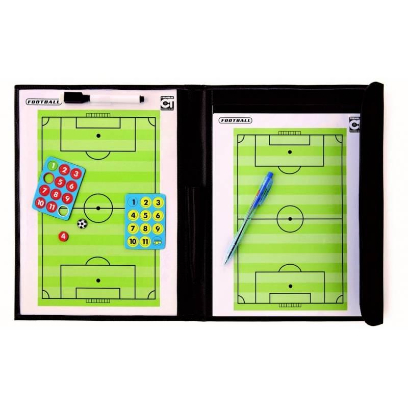 Pochette magnétique et effaçable football