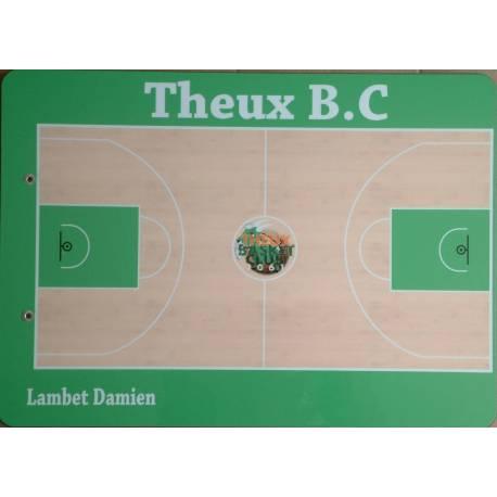Plaquette coach basket personalisée